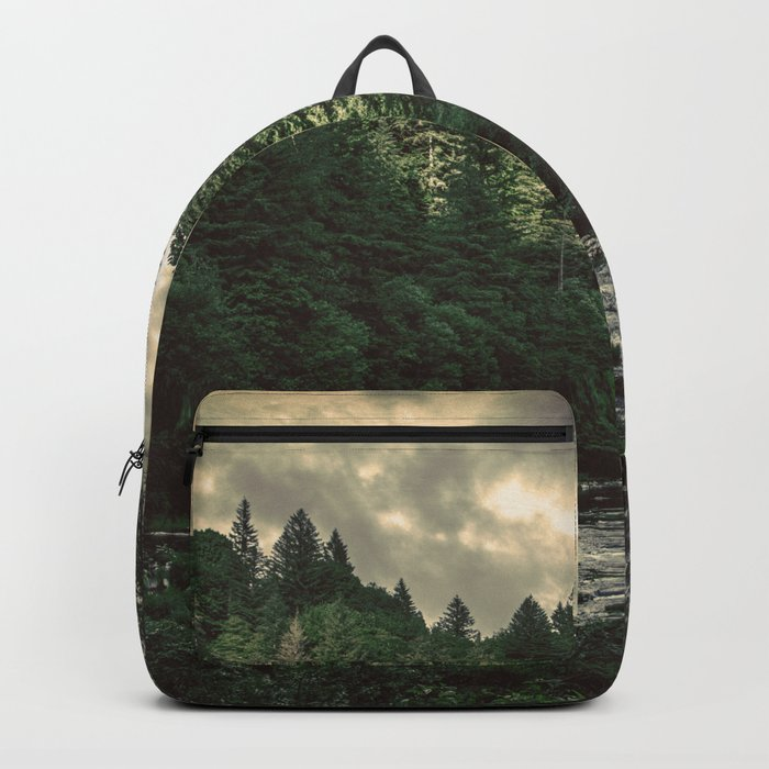 Pacific Northwest River - Nature Photography Rucksack