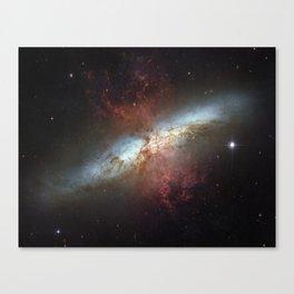 Messier 82 Canvas Print