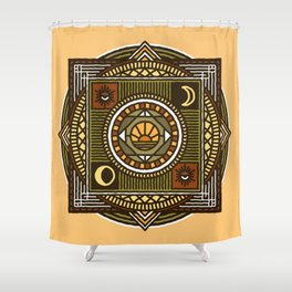 MoonWitch Shower Curtain