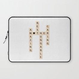 MOTHER's Day Scrabble Art Gift Laptop Sleeve