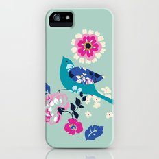 Birds and Blooms 3 iPhone (5, 5s) Slim Case