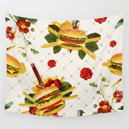 cheeseburger in gangstas paradise Wall Tapestry