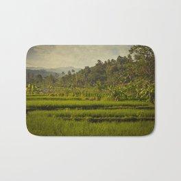 Balapusuh Village Rice Paddies Bath Mat