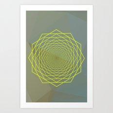 Geometrical 002 Art Print
