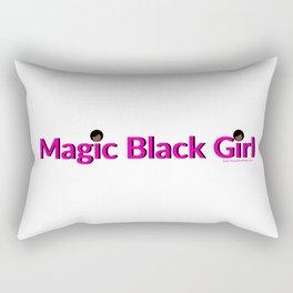 Magic Black Girl Rectangular Pillow