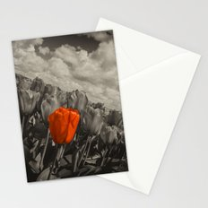 Tilted Red Stationery Cards