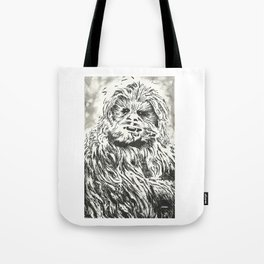 Chewbacca, Chewy, Wookie Tote Bag