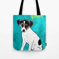 Dog Rat Terrier Tote Bag