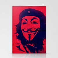 che Stationery Cards featuring Expect Che by rubbishmonkey