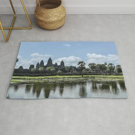 Angkor Wat at High Noon, Cambodia Rug