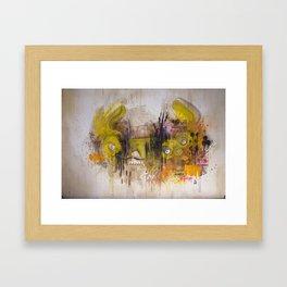 Mean Green Dual Action Minitiger Framed Art Print