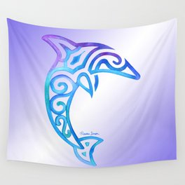 Tribal Dolphin Wall Tapestry