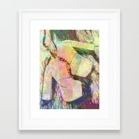 shoes Framed Art Prints featuring shoes by Maria Enache