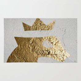 Gold Crown Rug