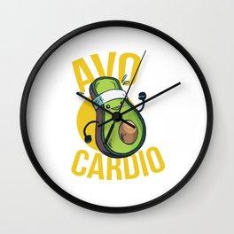 AvoCardio Wall Clock