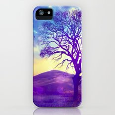 Purple Hill - for iphone Slim Case iPhone (5, 5s)
