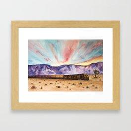 Desert Dreamscape Framed Art Print