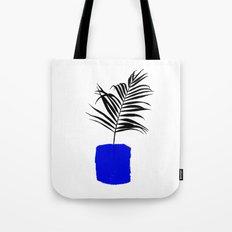 Blue Pot Tote Bag