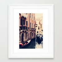 venice Framed Art Prints featuring Venice by Ingrid Beddoes