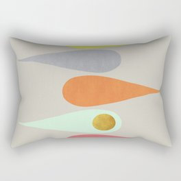 Vintage minimal improvisation 3 Rectangular Pillow