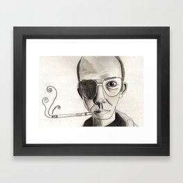 Hunter Thompson  Framed Art Print