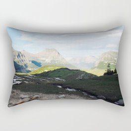 Glacier National Rectangular Pillow
