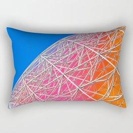 Rainbow Biosphere Mesh Rectangular Pillow