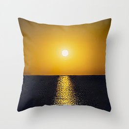 San Felipe: Sunset Throw Pillow