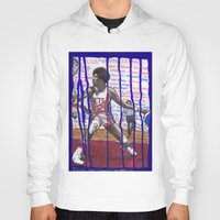 nba Hoodies featuring NBA PLAYERS - Julius Erving by Ibbanez