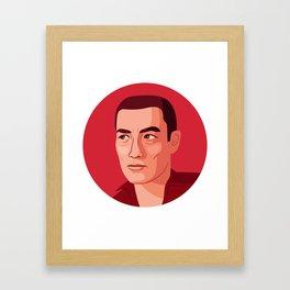 Queer Portrait - Yukio Mishima Framed Art Print