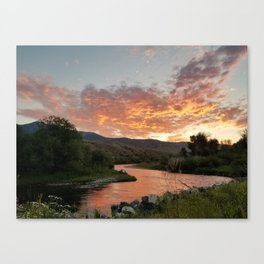 Rukavina Sunset Canvas Print
