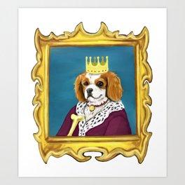 King Charles Cavalier Art Print