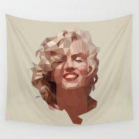 marilyn Wall Tapestries featuring marilyn by gazonula