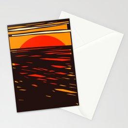 Jazz Sun Stationery Cards