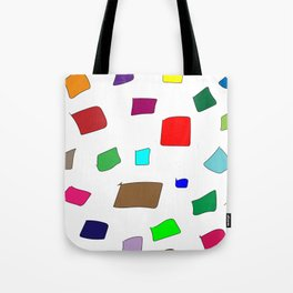 Hand Drawn Wannabe Squares (Jamison) Tote Bag