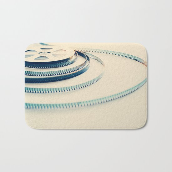 super 8 film III Bath Mat