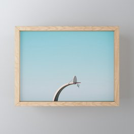 Center Court Framed Mini Art Print