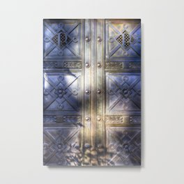 Crypt Door Highgate Cemetery Metal Print