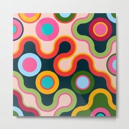 Happy Colors No2 Metal Print