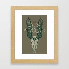 Dalish Advocate Framed Art Print