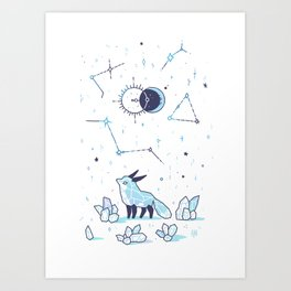 Arctic Nights Art Print