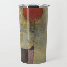 Red Balloon by Paul Klee Travel Mug