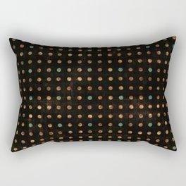 Pixel - Cool Colors Rectangular Pillow