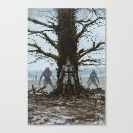 Brother Zygfryd and the Last Crusade Canvas Print