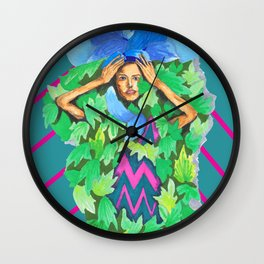 FLORALGiRL Wall Clock