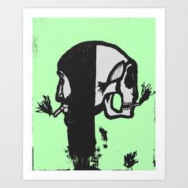 Reversed Reflection Art Print