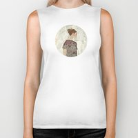 study Biker Tanks featuring Study by Suzanna Schlemm