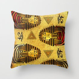Pharaonic Throw Pillow
