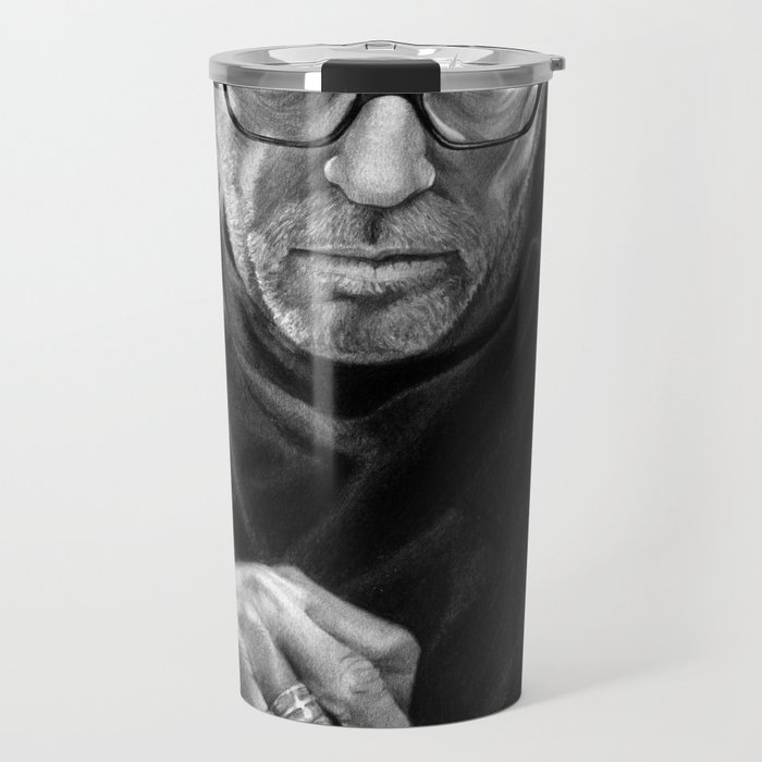 Eric Clapton PENCIL DRAWING Travel Mug