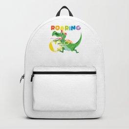 Roaring Educator Kindergarten Children gift Backpack